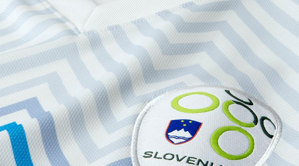 Slovenia Badge for Home Kit 2014